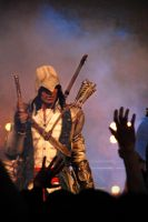 AC III - Connor Cosplay at Firstlook 2012 by RBF-productions-NL