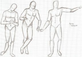Body Proportions - Practice by lichotka