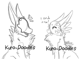 I can do it too by Kuro-Doodles