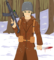Frost Windchill in WW2 by glue123