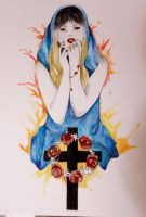 Lady Gaga Judas by niqitaMonster