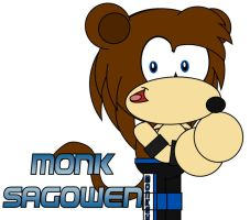 Monk SaGowen by AshleyWolf259