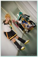Vocaloids version Len by eriol125