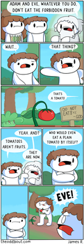 The Forbidden Fruit by theodd1soutcomic