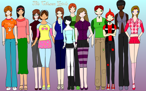 all of The Chosen Girls by RuthieA