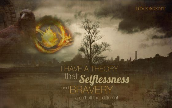 Divergent Wallpaper Quote FIXED by Starflyt