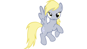 Derpy Hooves Flying (Vector) by LegoGuy87