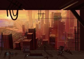 City 3 from the top by Jesterman