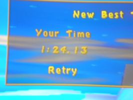Spyro the Dragon 2 Icy Speedway time score by PlatinumDrawings