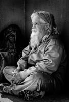 Portrait of an old man by sensHXC