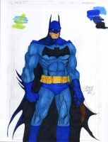 Copic Colors No1 - Batman by ChrisShields