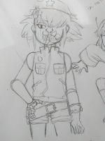 Cyborg Noodle that came out bad by IceBubbleTea1