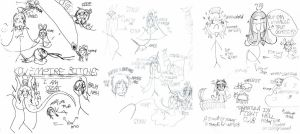 Major Sketchdump of What by chibimaker