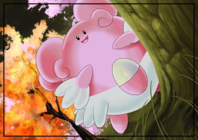 Blissey by carrie-warwick