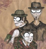 The Tiger Lillies by Little-Blind-Chicken