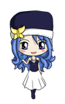 Juvia Chibi by IcyPanther1