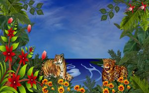Jungle Cats by Frankief