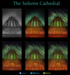 The Solemn Cathedral - Work In Progress by Razowi