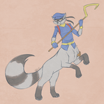 Sly Cooper Taurs #3 - Sly Cooper by dragonheart07