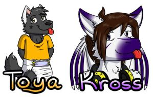 After-AC2013 Badge Orders by QuetzaDrake