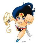Wonder Woman animated colors by SURFACEART