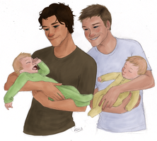 family men by muffinpoodle