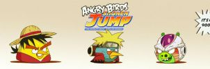 Angry Birds Shonen Jump! by jeffreymunoz