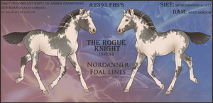 A2393 FHS's The Rogue Knight by 11IceDragon11