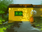 Yellow Home by lemur-llama