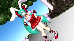 .: Rabbit Miku :. by mmd-lover