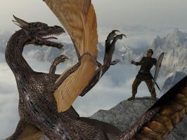 Dragon's Peak by FroschGott1965