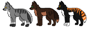 CHEAP Wolf Adopts! //OPEN// by SNlCKERS
