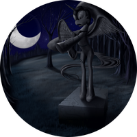 Shrine of Nightmare Moon by Konsumo