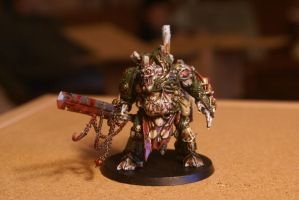 Nurgle deamon Prince Commision pic 1 by TheAceintOne