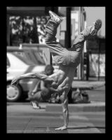 street acrobatics by MrVERTIGO