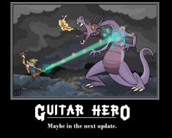 Demotivation - Guitar Hero by quicksilver22
