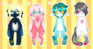 Anthro Adoptables [AUCTION](CLOSED) by lifeforce10