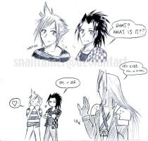 FFVII: Impressionable Youth by snailtamer