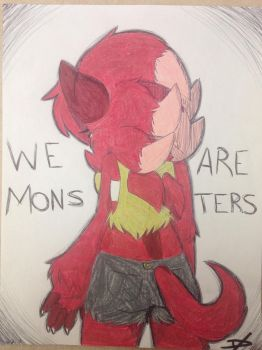 + Monsters  + by jellyBELLYfish
