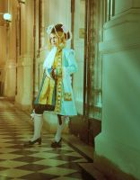 APH cosplay: pirate France by AngelGabrielWolff