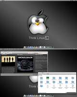 Chakra Think Linux :-D by CraazyT