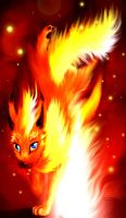 Detailed Flareon by Jade-Viper