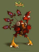 Dofus Feathered Dragoturkey by Catell-Ruz