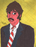 (old) Ringo starr en cubismo by polonortefick