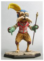 labyrinth Sir Didymus sculpture colors2 by yotaro76