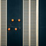 Back Side with Orange Dots by Pierre-Lagarde