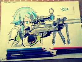 Sinon by Exxels