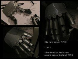 Dani's Automail Hand by LaylaPathos