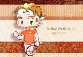 Tennis: Indian Wells 2015 SF by 32929wt