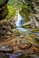 waterfall by GeorgeSiamanis